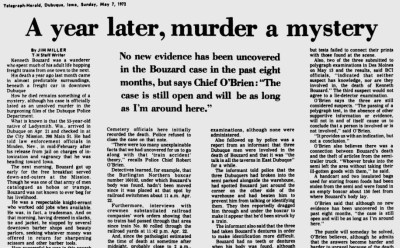 Courtesy the Telegraph-Herald, May 7, 1972