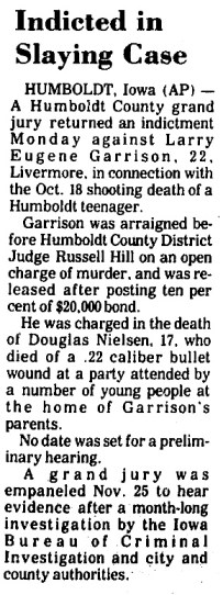 Courtesy Carroll Daily Times Herald, Dec. 31, 1974