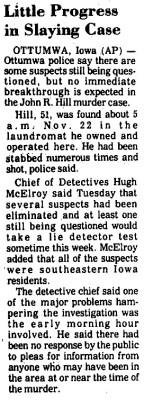 Courtesy Carroll Daily Times Herald, Nov. 30, 1976