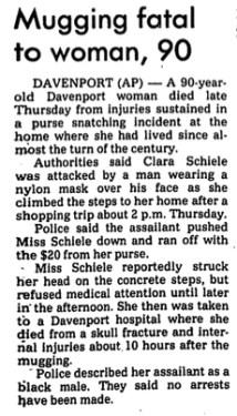 Courtesy The Cedar Rapids Gazette, Aug. 5, 1978