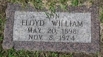Floyd Alborn headstone