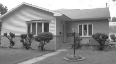 House where Frank Goff slain