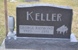 George Keller gravestone