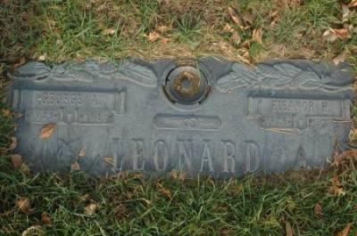George Leonard headstone