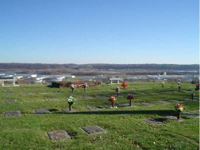 Linwood Cemetery in Dubuque