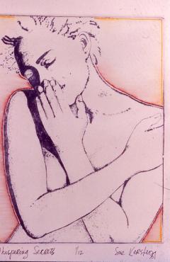 Susan Kersten's painting