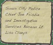 Joe Frisbie and Lisa Claeys