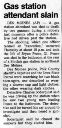 Courtesy The Gazette, May 31, 1986
