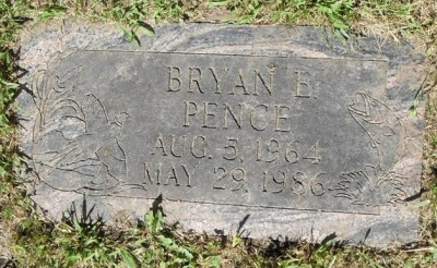 Bryan Pence gravestone