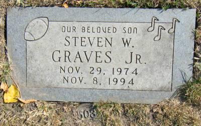 Steven Graves headstone