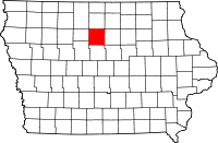 Wright County in Iowa