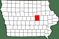 Tama County in Iowa