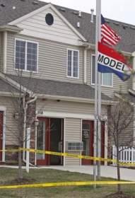Model home where Ashley Okland killed