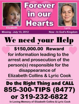 Evansdale Reward poster
