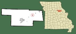 Laddonia, Mo., in XX County