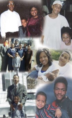 Leroy Gordon funeral collage