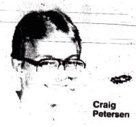 Craig Petersen obituary photo, courtesy Quad-City times, Oct. 2, 1986