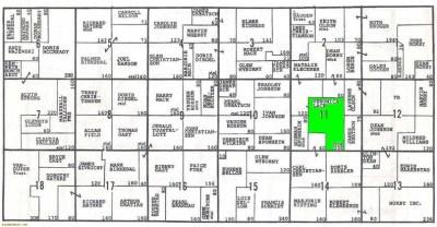 Plat Map of Veronica Lack property