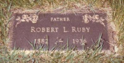 Robert Ruby headstone