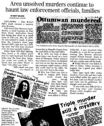 Ottumwa Courier article Jan. 6, 2007