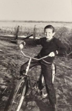 Frankie Capps as a boy
