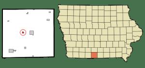 Decatur City in Decatur County, Iowa