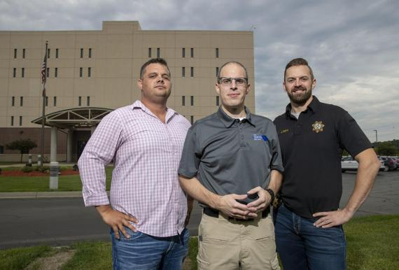 Jim Doty, Tony Kava, and Ryan Avis