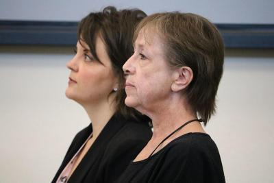 Annette Cahill during Corey Wieneke murder trial