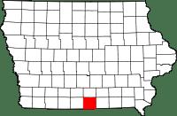 Wayne County in Iowa