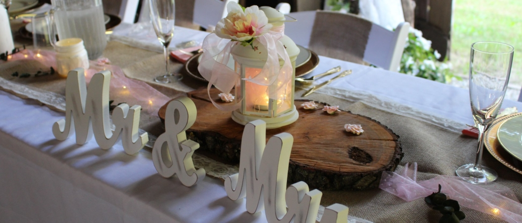 bridal table 2