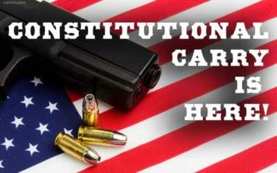 Sen Cournoyer and Rep Holt discuss Constitutional Carry (HF756) w/IFC