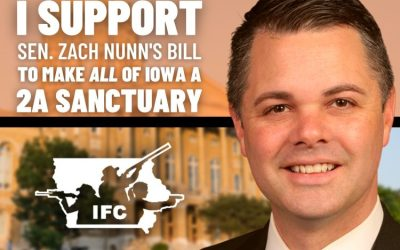 Sen. Zach Nunn speaks on 2A Sanctuary