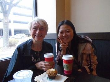 Coffee at Starbucks w/ Friend 2015