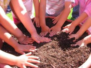 Hands in dirt Pic