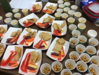 Chickpeas & Hummus at Elgin Library
