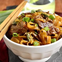 Mongolian Beef Noodle Bowls