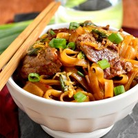 Mongolian Beef Noodle Bowls (Video)