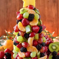 Fruit Christmas Tree (Video)