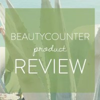 Beautycounter Brightening Collection + Rejuvenating Products Review