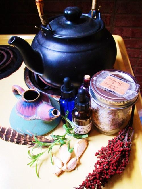 Sumac Sinus Rinse | Iowa Herbalist
