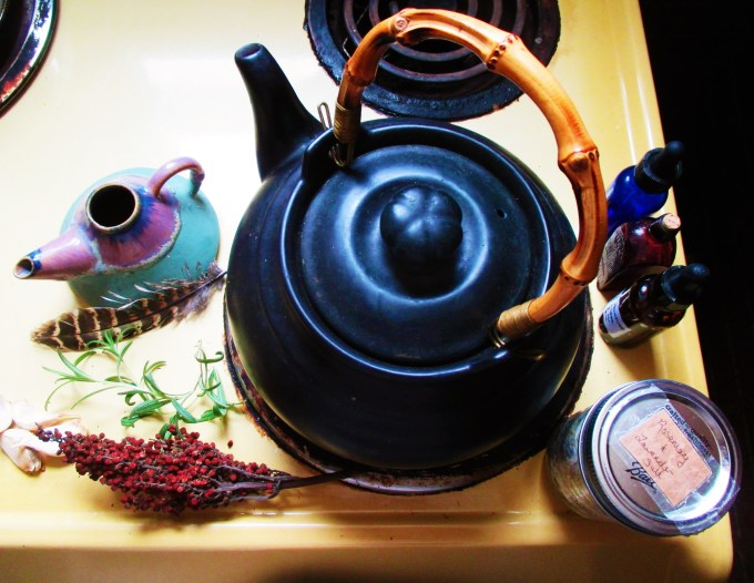 Making a Neti Pot with Herbs | Iowa Herbalist