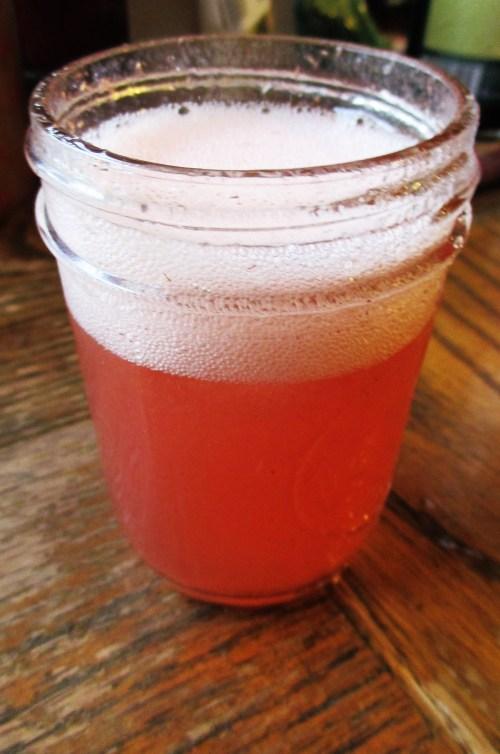 Strawberry Peach Cinquefoil Shrub | Iowa Herbalist