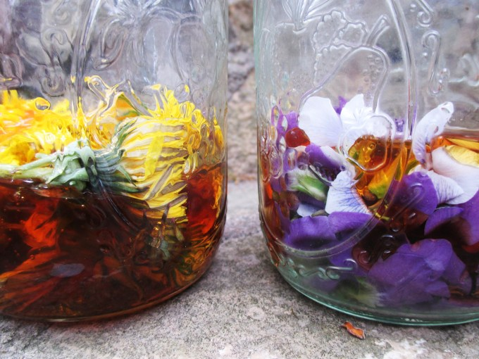 Flowers Soaked in Honey | Deer Nation Herbs