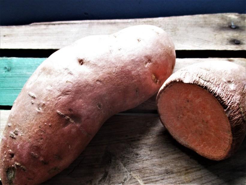 Sweet Potato Closeup | Iowa Herbalist
