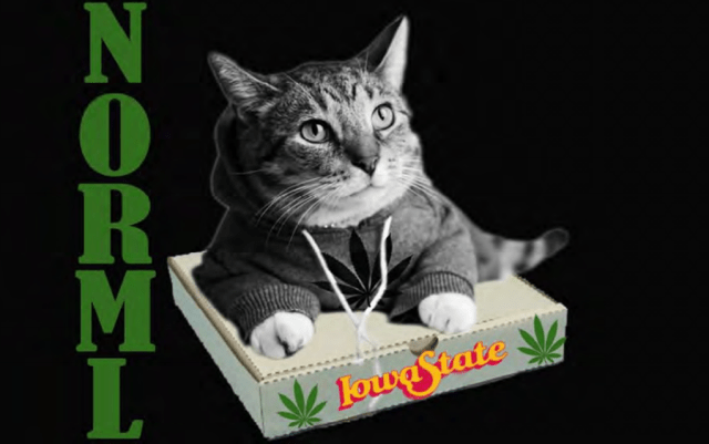 One of NORML ISU's approved T-shirt designs, via a document filed with the appellate court.