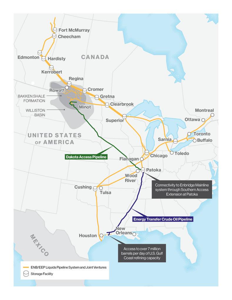 Dakota Access Pipeline Iowa Map.Canadian Energy Giant Buys Share In Bakken Pipeline Project Iowa