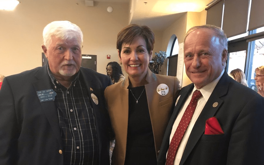 With Election Safely Over, Kim Reynolds Criticizes Steve King