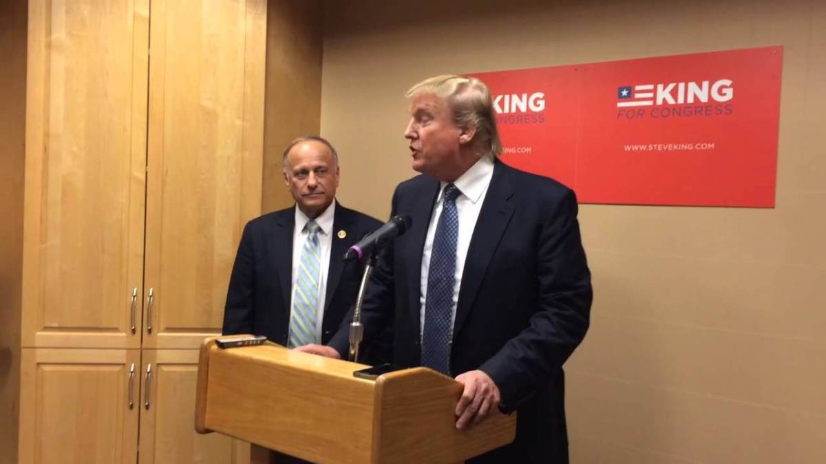 Donald Trump Funded Steve King's Campaign As He Mulled Presidential Bid