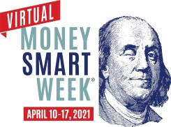 Image:  Virtual Money Smart Week April 10-17, 2021