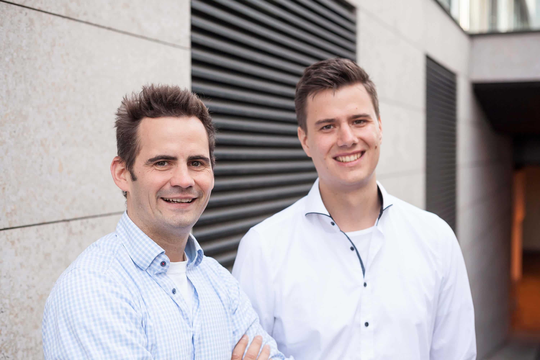 IOX LAB Gründer Robert Jänisch und Andreas Bell